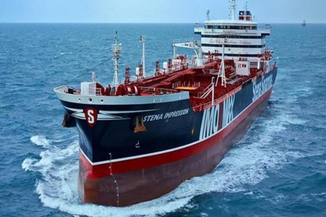 Pasukan Iran Resmi Tahan Kapal Tanker Di Selat Hormuz