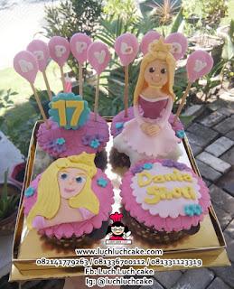 Cupcake Princess Disney Aurora Sleeping Beauty
