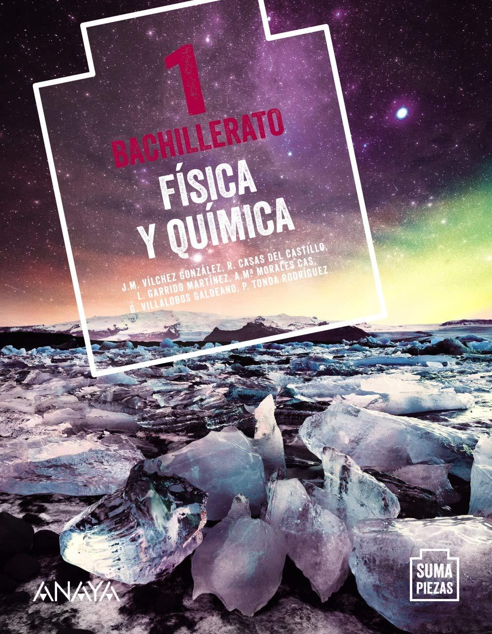 Libro Física y Química 1º Bachillerato Anaya Proyecto Suma Piezas