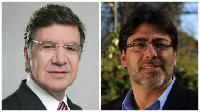 Daniel Jadue y Joaquín Lavín