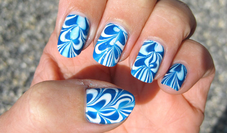 Swirl nails!