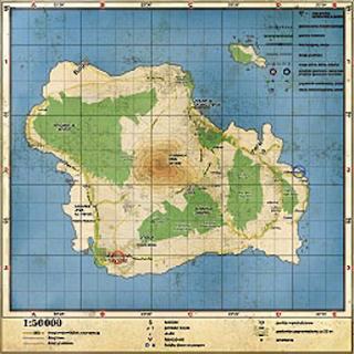 "La carte de Banoi dans ""Dead Island"""