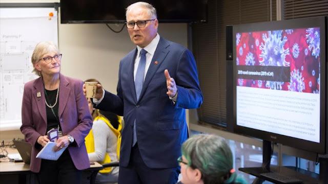 Washington anuncia estado de emergencia por coronavirus en EEUU