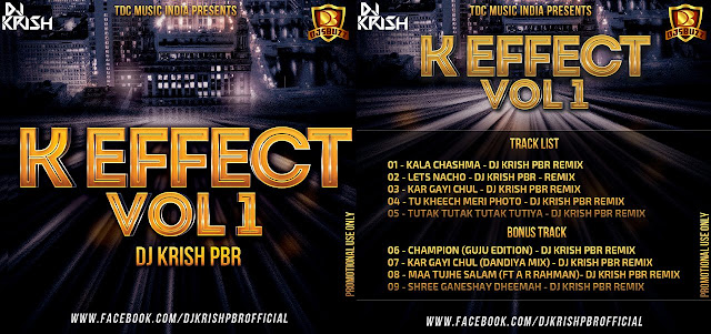 K-EFFECT VOL.01 – DJ KRISH PBR