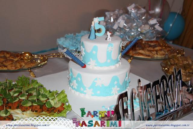 elsa frozen doğum günü partisi
