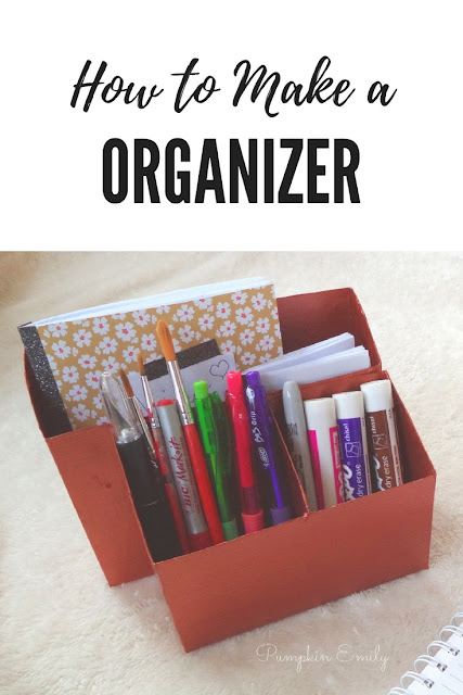 DIY Copper Organizer | DIY Desk Organizer Out of a Cereal Box