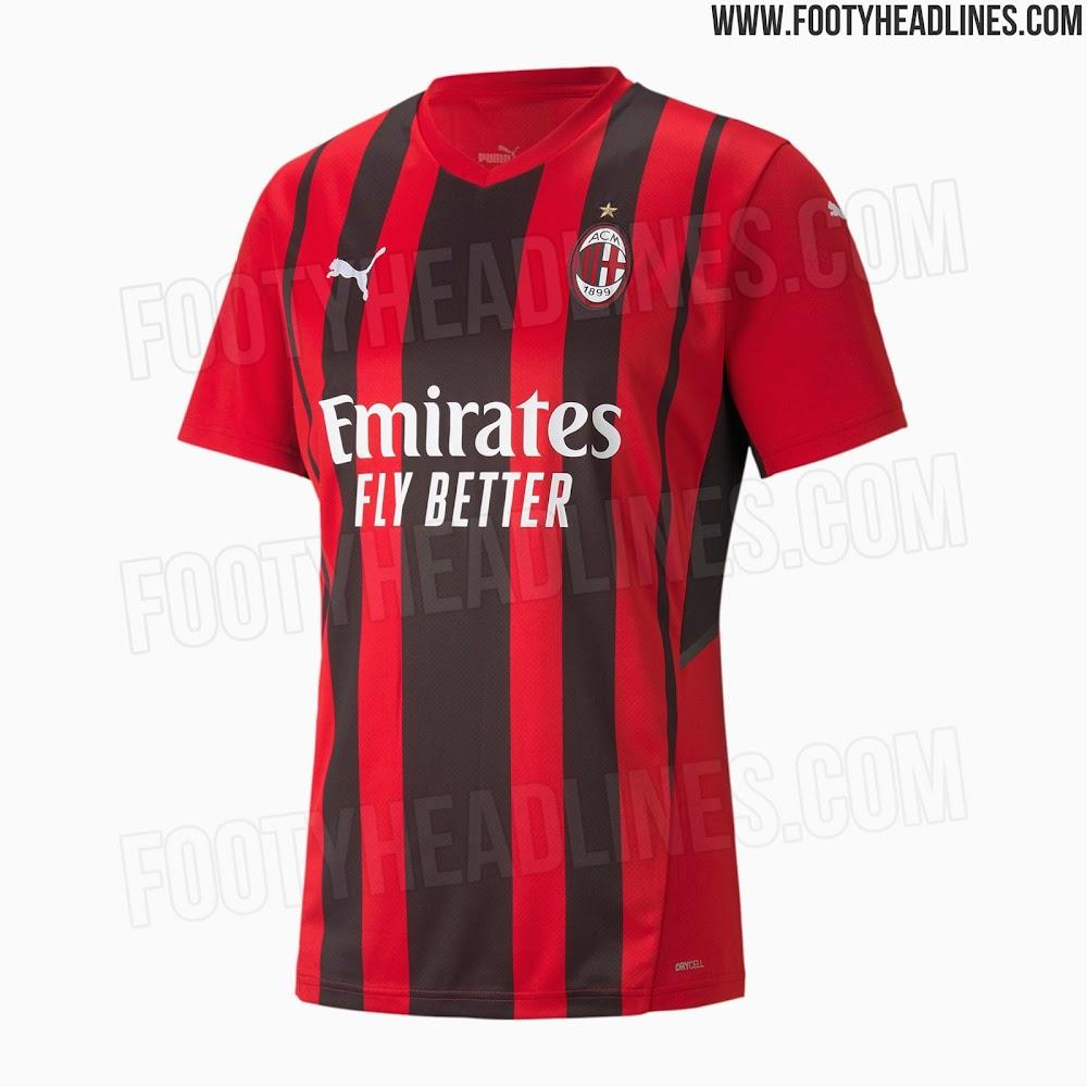 AC Milan Home Football Kit