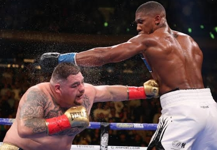Pertandingan tinju Anthony Joshua vs Andy Ruiz Jr. II