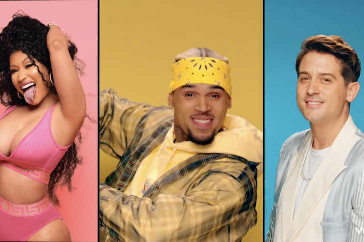 "Watch: Chris Brown Drops The Video For ""Wobble Up"""