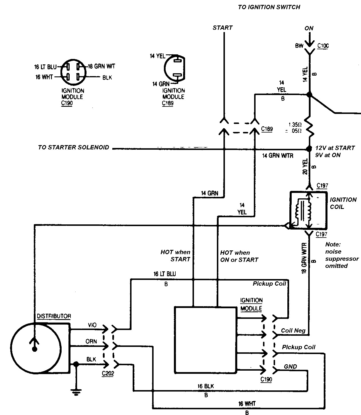 distributor wiring diagram 1978 chevy 350