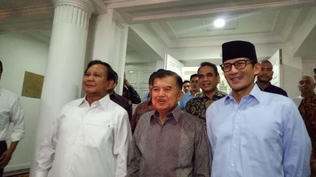 Kenapa Prabowo Terima JK, Tetapi Tolak Luhut?