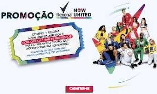 Cadastrar Promoção Rexona Par Ingressos Show Now United