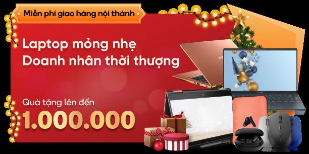 laptop doanh nhân giảm giá tặng thêm 1 triệu