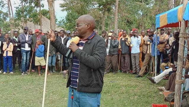Emurua Dikirr MP Johana Ng'eno