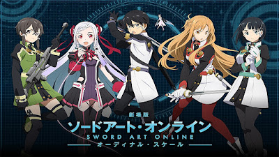 Sword Art Online Movie: Ordinal Scale Subtitle Indonesia [BD/Bluray]