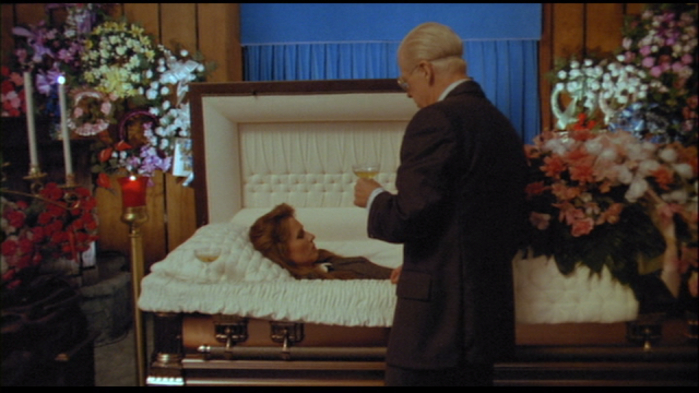 Stanley Burnside (CLU GULAGER) visits the object of his obsession in FROM A WHISPER TO SCREAM (1987).
