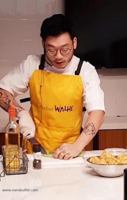 keseruan talkshow walhi forest cuisine blogger gathering dan masak bersama chef william gozali nurul sufitri travel culinary lifestyle review