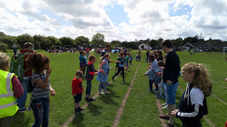 Egg and spoon race at Picnic in the Park
