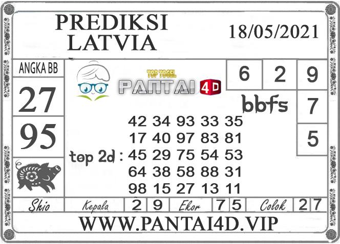 PREDIKSI TOGEL LATVIA PANTAI4D 18 MEI 2021
