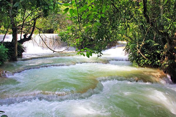 Cascate Kuang Si Luang Prabang (Laos)