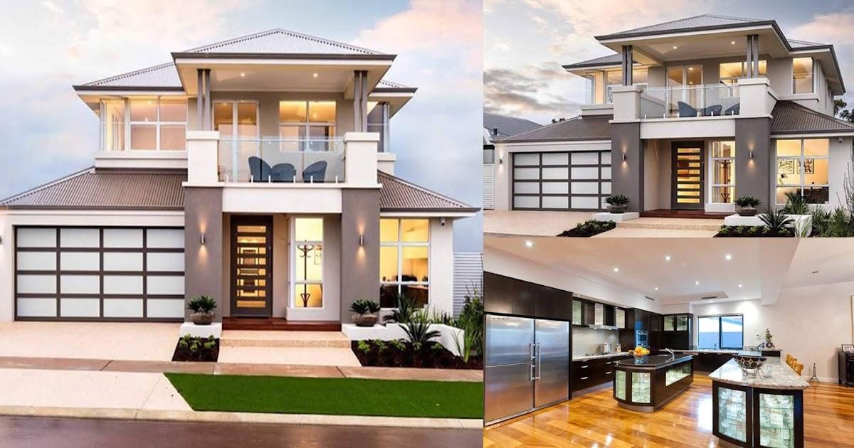 Contemporary Double Storey Residential Villa Engineering