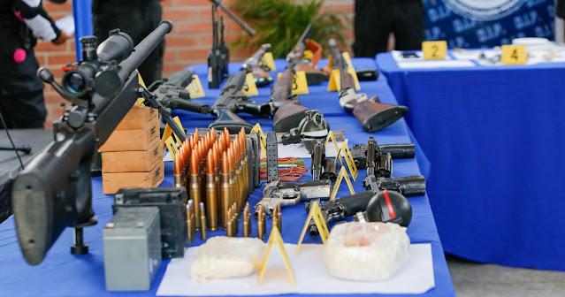 38 DETENCIONES Y DECOMISO DE ARMAS DE FUEGO PRACTICÓ LA PNB EN LA VEGA