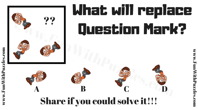 Can you solve this Non-verbal Analogy Puzzle Question?