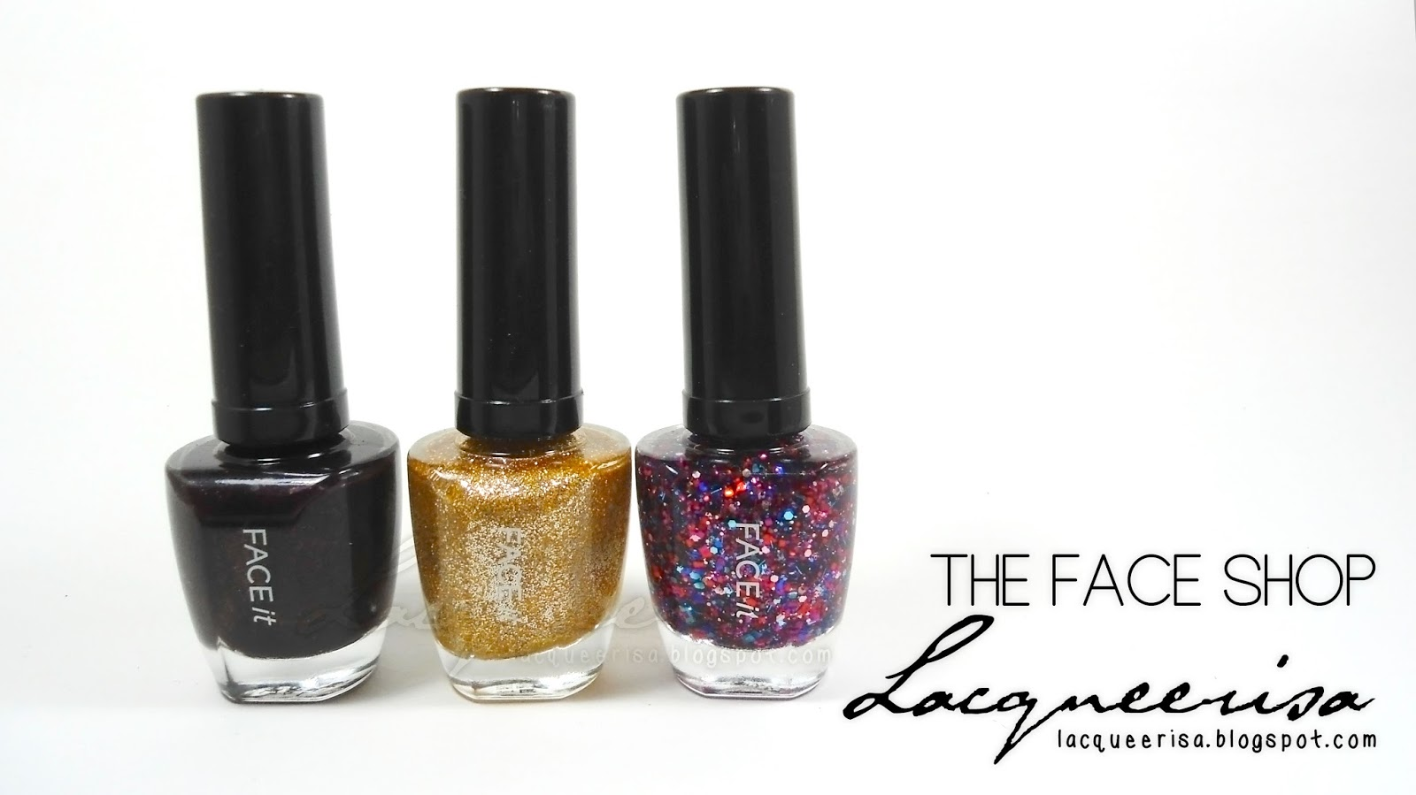 Lacqueerisa: The Face Shop Nail Polishes
