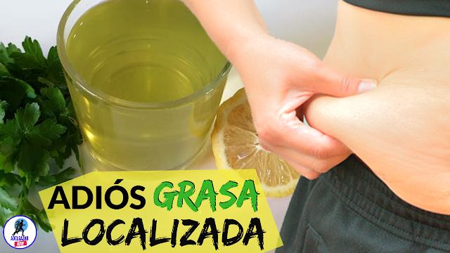 Bebida de Perejil para Reducir la Grasa Abdominal en 1 Semana