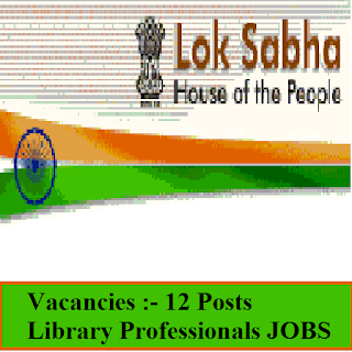 Lok Sabha Secretariat, Parliament of India, New Delhi, Delhi, Lok Sabha, Graduation, freejobalert, Sarkari Naukri, Latest Jobs, lok sabha logo