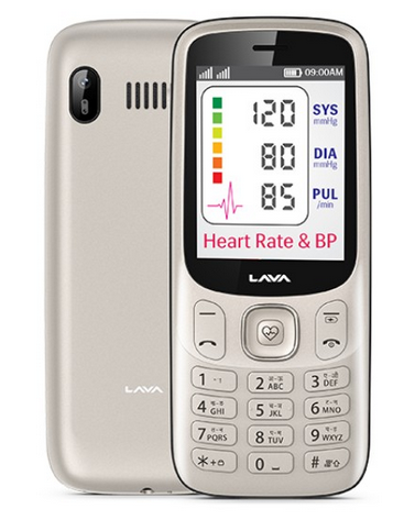 Can You Rock This Feature Phone with built-in Heart Rate Sensor?