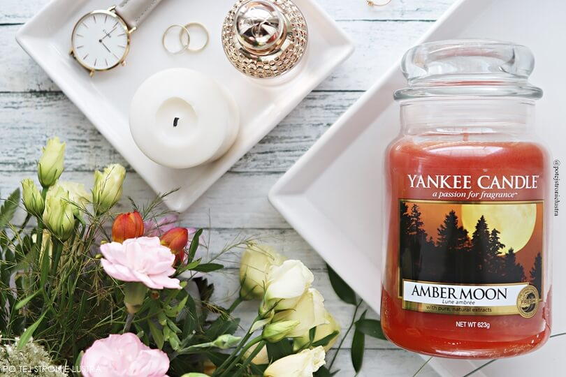 świeca yankee candle amber moon