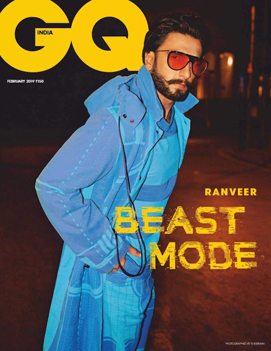 Male Fashion Trends: Ranveer Singh se convierte en un animal nocturno para GQ India