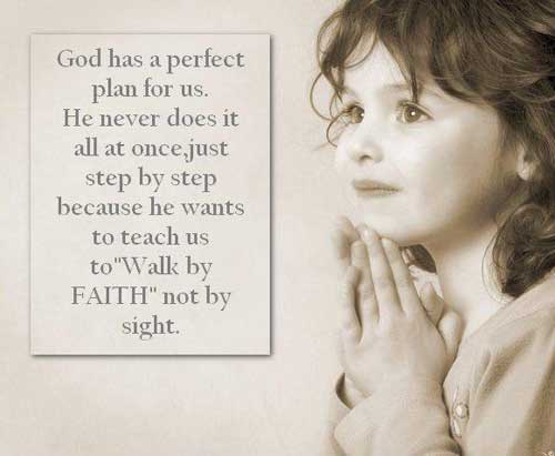 God has a perfect plan for us - Islamic Quotes