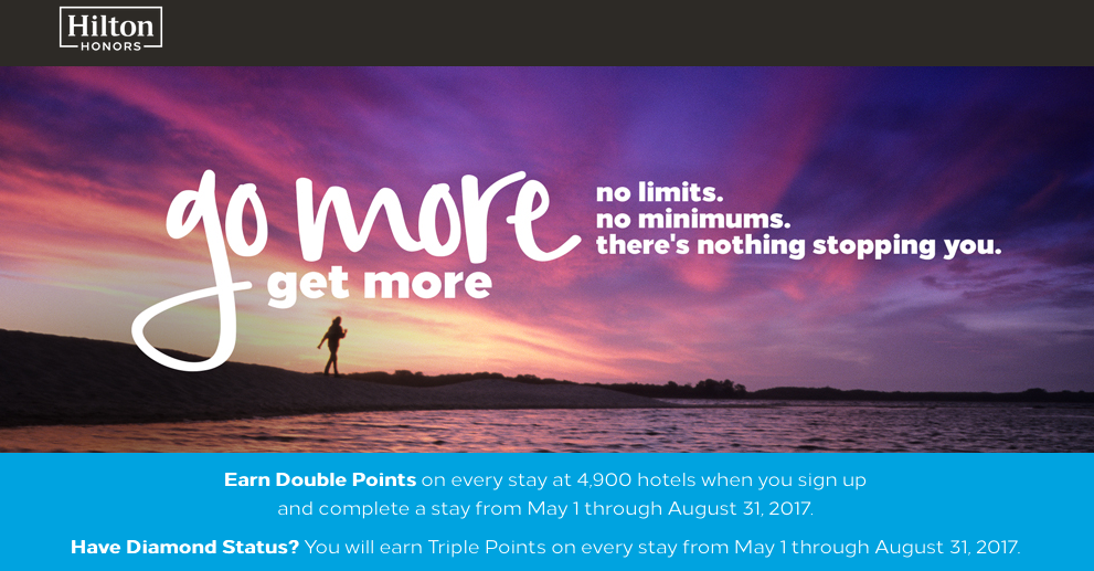As The Month Of April Wraps Up So Does Cur Systemwide Hilton Honors Bonus 2 000 Points Per Night Good News Is There No Gap Between That
