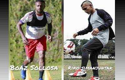 Masuk Tim Terbaik Piala AFC, Boaz Solossa dan Riko Simanjuntak Terpilih Melalui Voting