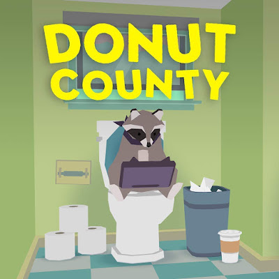 Donut County Game Logo