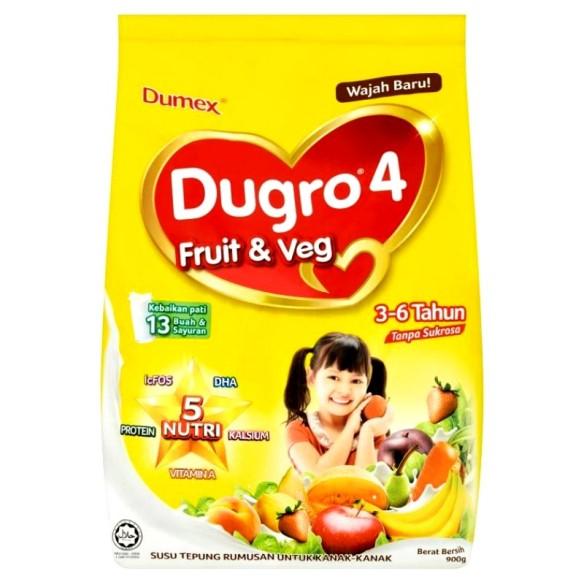 Susu untuk bayi sembelit fruit and veg