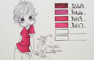 Heather's Hobbie Haven - Copic Marker Color Combo