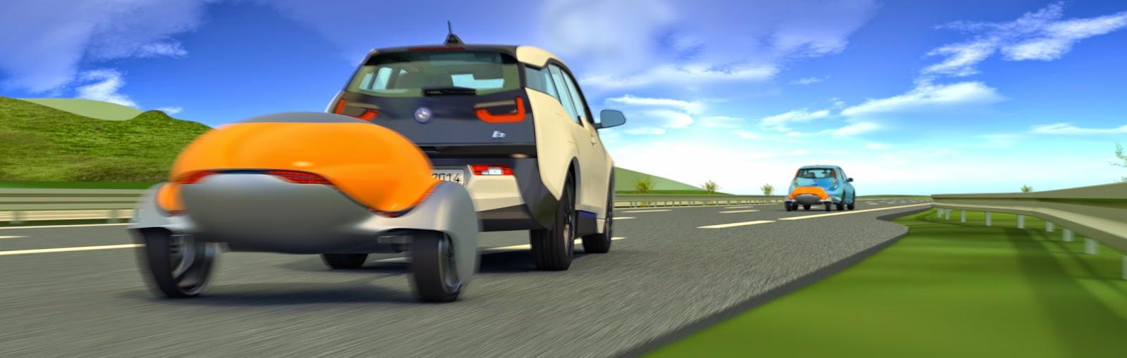 Nomadic Range Extender For The Nissan Leaf And Bmw I3