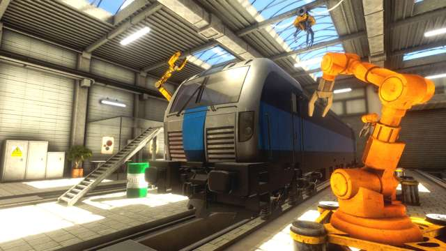 Train Mechanic Simulator 2017 PC Full Español