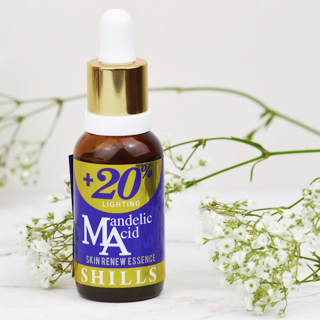 Lovelaughslipstick blog - Skincare Review of Shills Mandelic Acid +20% Lighting Skin Renew Essence