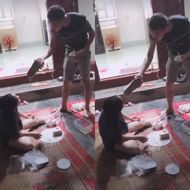 Đoạn clip vài giây nhưng khiến MXH bức xúc: Chồng nhục mạ vợ được bạn bè cổ vũ