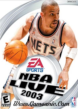 NBA Live 2003 Game Cover
