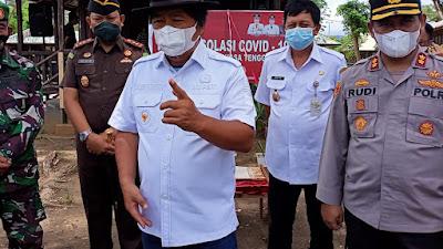 Launching Rumah Singgah Covid-19, Sumendap Minta Yang Isoman Tertib