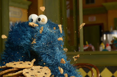 I am cookie monster