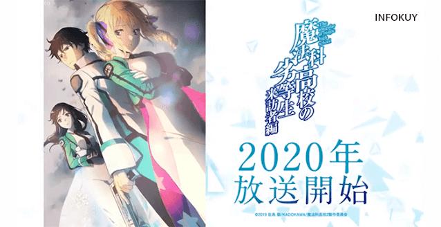 Mahouka Koukou no Rettousei: Raihousha-hen - Romance 2020