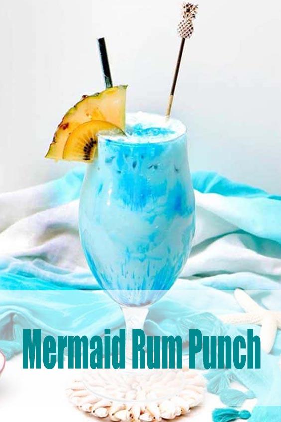 Mermaid Rum Punch