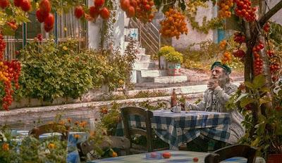Old Greek man's memories