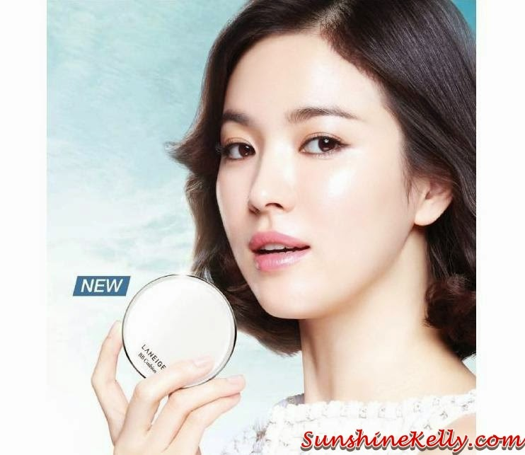 Laneige BB Cushion SPF50, Laneige, BB cushion, powder foundation, foundation, makeup, korean makeup
